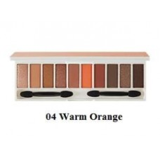 Палетка теней для глаз THE SAEM Color Master Shadow Palette 04 Warm Orange