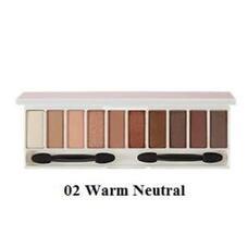 Палетка теней для глаз THE SAEM Color Master Shadow Palette 02 Warm Neutral