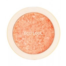 Румяна компактные 02 THE SAEM Eco Soul Carnival blush 02 Coral 9,5гр