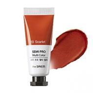 Универсальный цветной пигмент THE SAEM Semi Pro Multi Color 19 Scarlet 5мл