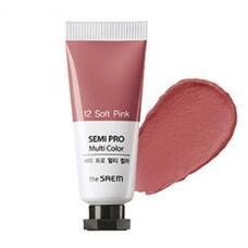 Универсальный цветной пигмент THE SAEM Semi Pro Multi Color 12 Soft Pink 5мл