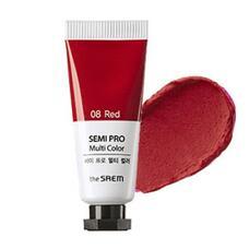 Универсальный цветной пигмент THE SAEM Semi Pro Multi Color 08 Red 5мл