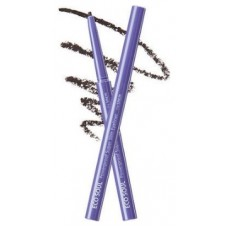 Подводка для глаз тонкая THE SAEM Eco Soul Powerproof Super Slim Eyeliner BK02 Ash Black 0,1гр
