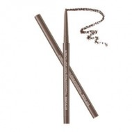 Подводка для глаз тонкая THE SAEM Eco Soul Powerproof Mega Slim Liner 02 Deep Brown 0.07гр