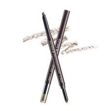 Карандаш-пудра для бровей THE SAEM Eco Soul Pencil & Powder Dual Brow 02.Deep Brown 0,5гр*0,3гр