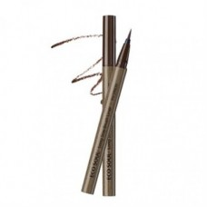 Кисть-лайнер для глаз 02 THE SAEM Eco Soul Long Stay Brush Liner 02 brown 10гр