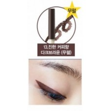 Карандаш для глаз водост. гелевый 13 THE SAEM Eco Soul Waterproof Gel eyeliner 13 Dark Coffee Brown 0.5гр