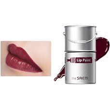 Тинт-помада для губ 10 THE SAEM Lip Paint 10 Chili Pepper 5гр