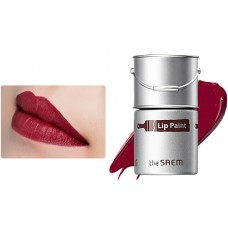 Тинт-помада для губ 01 THE SAEM Lip Paint 01 Crimson Red 5гр