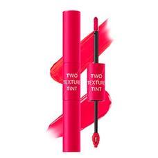 Тинт для губ двойной THE SAEM Two Texture Tint PK01 Pink Duo 8гр