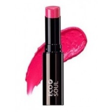 Помада увлажняющая сияющая THE SAEM Eco Soul Moisture Shine Lipstick PF01 Hadong pink 5,5гр