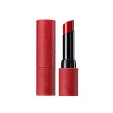 Помада для губ матовая THE SAEM Kissholic Lipstick S RD02 Red Velvet 4,1гр