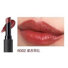 Помада для губ матовая THE SAEM Kissholic Lipstick Extreme Matte RD02 Fire 3,8гр