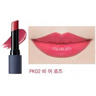 Помада для губ THE SAEM Kissholic Lipstick Leather Glow PK02 Be A Rose 3,7гр