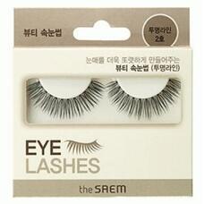 Накладные ресницы THE SAEM Eyelash Clear Line 2