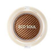Тени гелевые для век THE SAEM Eco Soul Swag Jelly Shadow 1 Get some coffee 4,8г