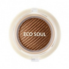 Тени гелевые для век THE SAEM Eco Soul Swag Jelly Shadow 1 Get some coffee 4,8г