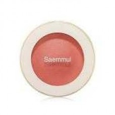Тени для век мерцающие THE SAEM Saemmul Single Shadow (Shimmer) CR04 Splash Coral 2 гр