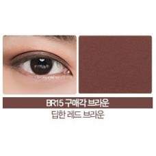 Тени для век матовые THE SAEM Saemmul Single Shadow(matte) BR15 No more Brown 1,6 гр