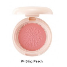 Румяна стойкие мерцающие 04 THE SAEM Saemmul Smile Bebe Blusher 04 Bling Peach(N) 6гр