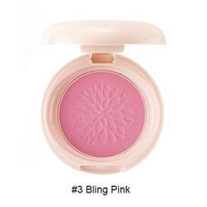 Румяна стойкие мерцающие 03 THE SAEM Saemmul Smile Bebe Blusher 03 Bling Pink(N) 6гр