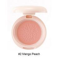 Румяна стойкие матовые 02 THE SAEM Saemmul Smile Bebe Blusher 02 Mango Peach(N) 6гр
