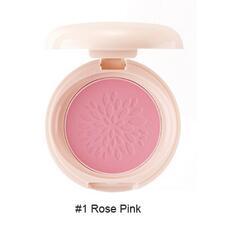 Румяна стойкие матовые 01 THE SAEM Saemmul Smile Bebe Blusher 01 Rose Pink(N) 6гр