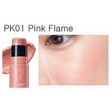 Румяна кремовые THE SAEM Saemmul Cream Stick Blusher PK01 Pink Flame 8гр