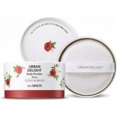 Пудра для тела THE SAEM Urban Delight Body Powder Rose 50гр
