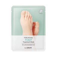 Маска для ног THE SAEM PURE NATURAL Foot Treatment Mask 8гр*2