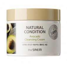 Крем очищающий авокадо THE SAEM Natural Condition Avocado Cleansing Cream 300 мл