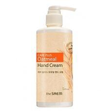 Крем для рук с экстрактом овса THE SAEM CARE PLUS Oatmeal Hand Cream (New) 300 мл