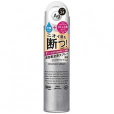 Дезодорант-спрей Shiseido Ag DEO24 с ионами серебра без запаха 40 г