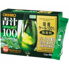 Зеленый сок аодзиру Orihiro Super 100 Green Vegetable Essence № 48