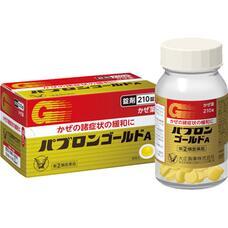 Таблетки комплексного действия от простуды Taisho ПАБУРОН GOLD A № 210
