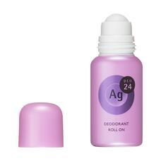 Shiseido Шариковый дезодорант с серебром Ag+ цветочный аромат 40 мл
