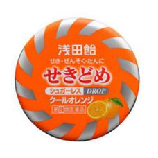 Таблетки ASADA от болей горла и кашля с апельсиновым вкусом № 36