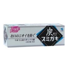 Зубная паста отбеливающая и полирующая с углем и мятными травами
