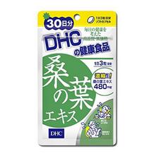 DHC Экстракт листьев шелковицы для нормализации уровня сахара в крови 90 капсул на 30 дней