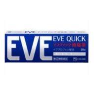 Мощное обезболивающее при всех видах боли EVE QUICK № 20
