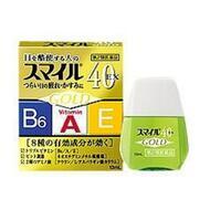 Японские капли для глаз Lion Smile 40EX Gold индекс свежести 5