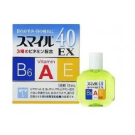 Витаминизированные глазные капли Lion Smile 40 EX 15ml индекс свежести 5