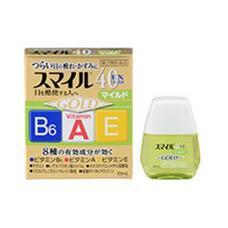 Японские капли для глаз Lion Smile 40 EX Gold Mild индекс свежести 2