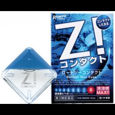 Японские капли для глаз Rohto Z! Contact