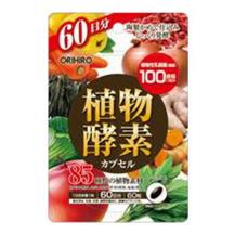 ORIHIRO Энзимы для улучшения обмена веществ,очищения от шлаков и похудения № 60