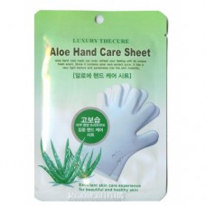 Co Arang Aloe Hand Care Sheet / Маска для рук с экстрактом алоэ