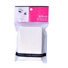 """K-Beauty Спонж косметический в индивидуальной упаковке """"Прямоугольник"""", 7*10см, 8 сегментов"""