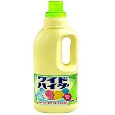 KAO Wide Haiter Щадящий кислородный отбеливатель для белого и цветного белья 1 л