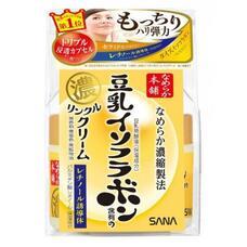 Sana CREAM / Увлажняющий и подтягивающий крем с ретинолом и изофлавонами сои WRINKLE