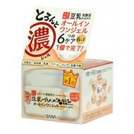 Sana GEL CREAM / Крем - гель увлажняющий с изофлавонами сои 6 в 1 SOY MILK